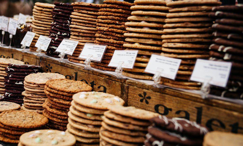 Etal de cookies