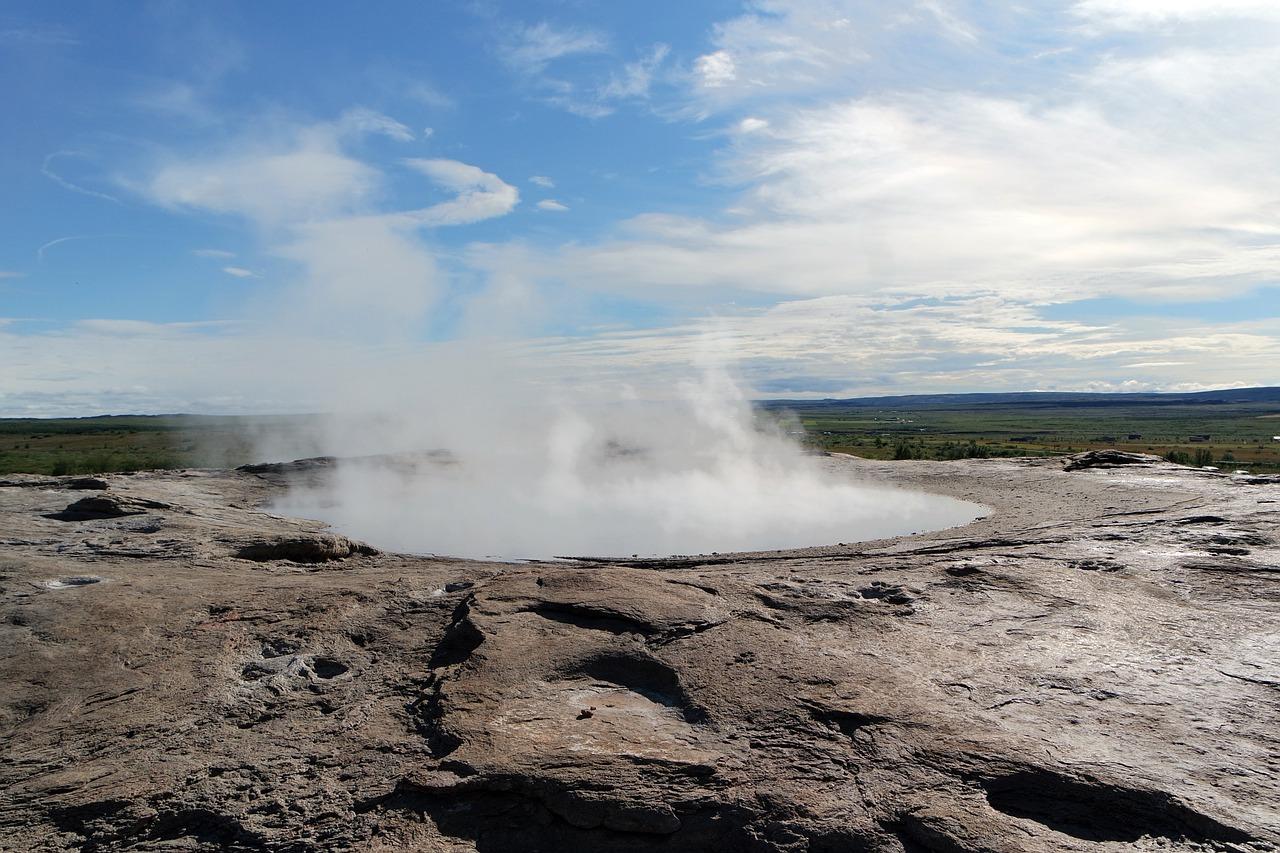 geyser islande