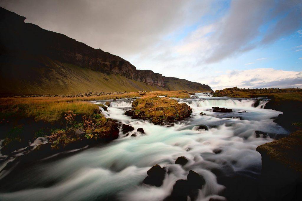 rivière islande